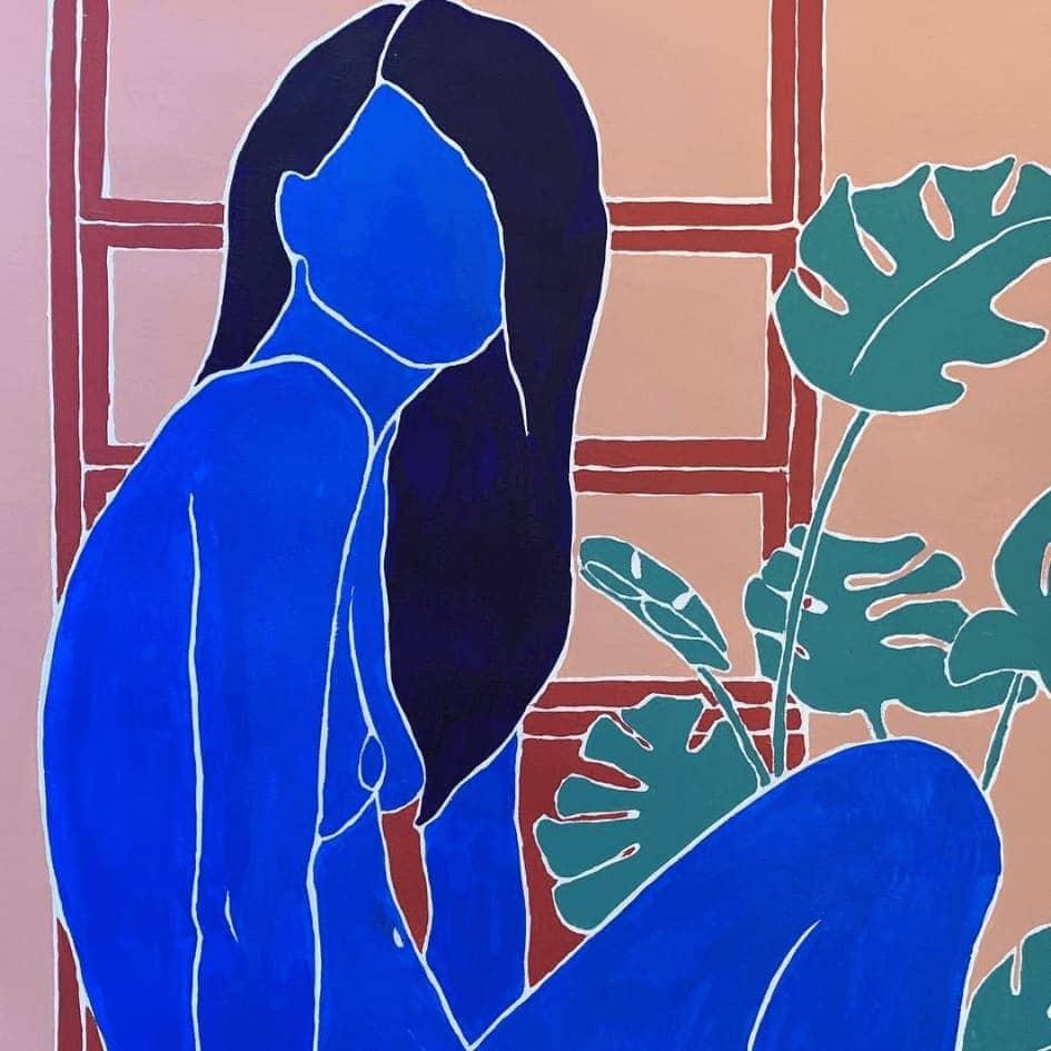 Illustrazione di Faustine Badrichani