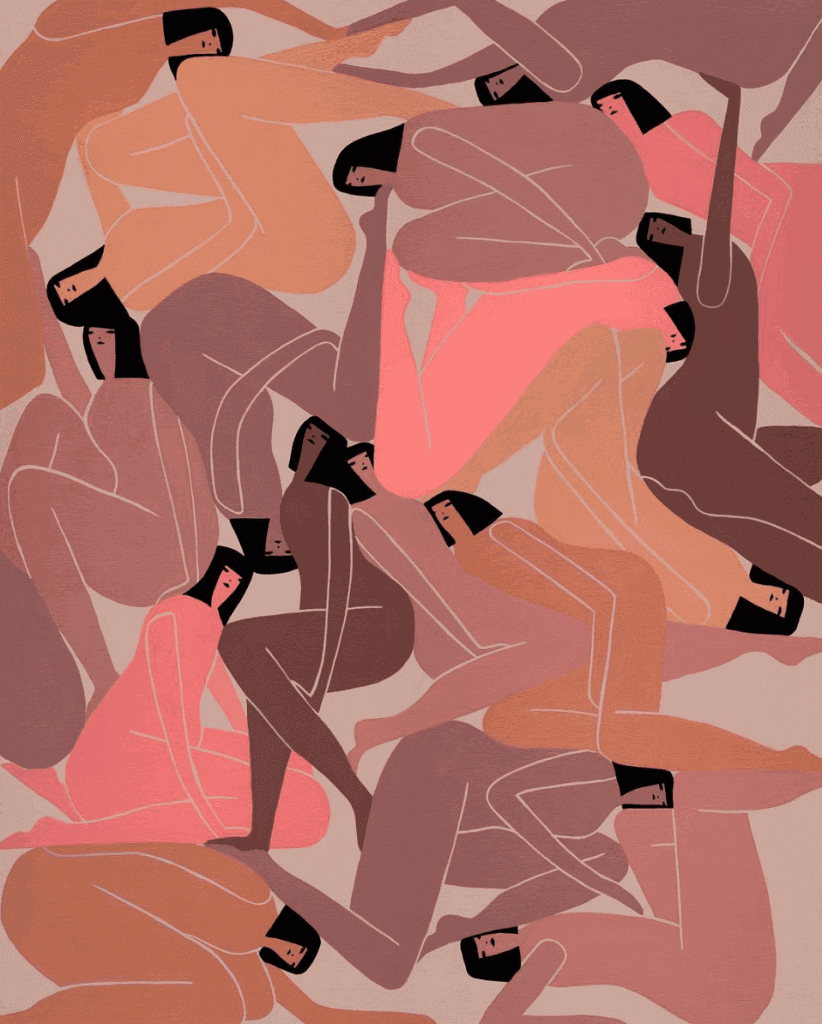 Women's bodies: illustration by Laura Berger